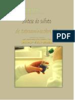 Síntese do Sulfato de cobre(II) mono-hidratado