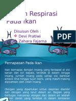 Sistem Respirasi Ikan