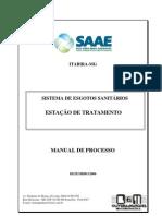 Manual de Processo-ETE Itabira-Final