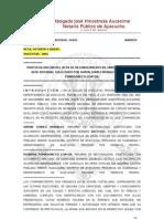 E.P. de UNION de HECHO de Simon Gomez y Dionisia Pomasoncco