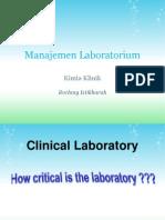 2. Manajemen Laboratorium
