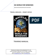 Travel Services Manual