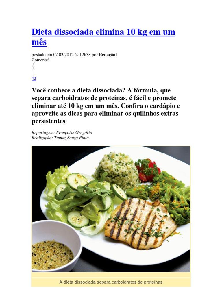 Dieta disociada receta de 1200 calorias alta en proteinas