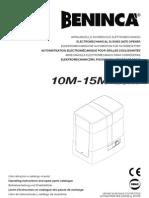 Beninca- Puerta El Amigo- Ficha Tecnica