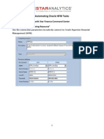 Automating HFM Tasks