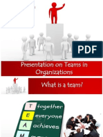 P1 - Presentation on Teams in Organizations