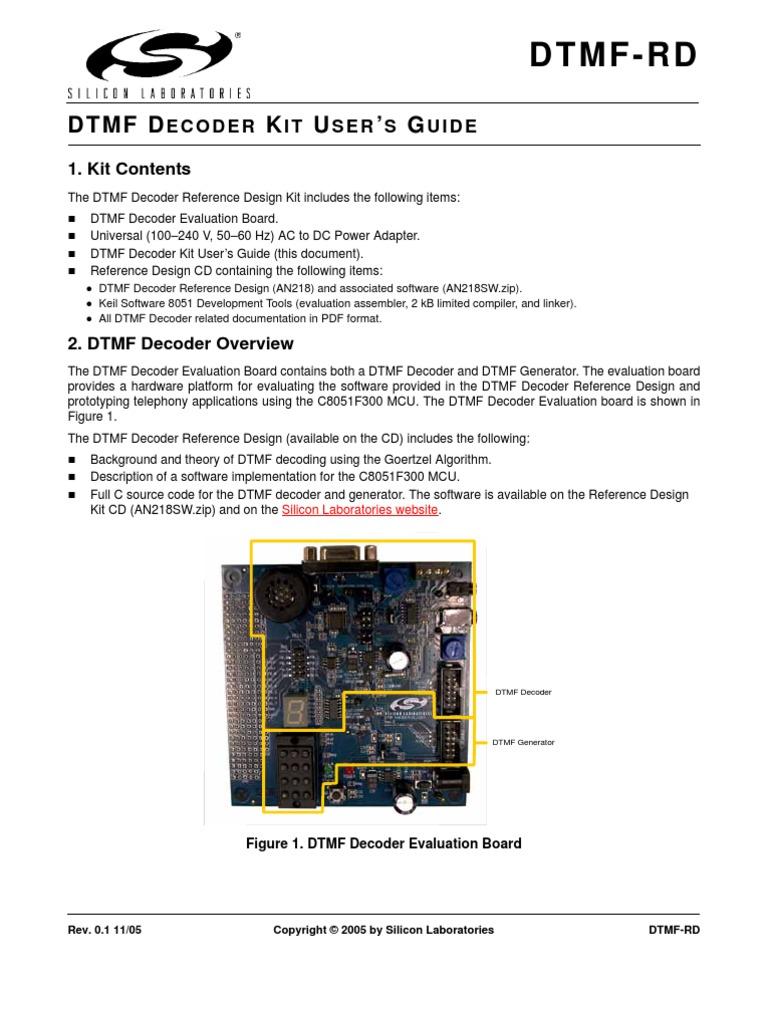 DTMF-RD | Codec | Analog To Digital Converter