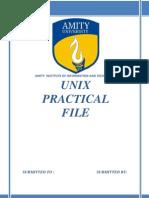 Unix Notes Pdf