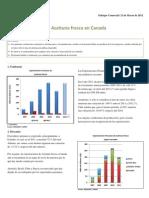 Enfoque Comercial - La Aceituna Fresca en Canada