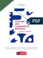 Festival van Vlaanderen 25 April tot 13 Mei 2012