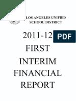 LAUSDFirstInterimFinancial2011 12 Ocr