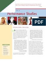 Peformance Studies