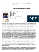 Niir Handbook on Food Biotechnology