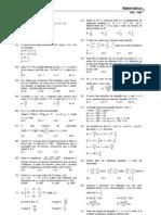AFA 1999 - Matematica