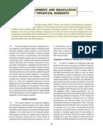 Development and Regulation of Financial Markets