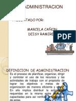 DEFINICION  DE ADMINISTRACION (1)
