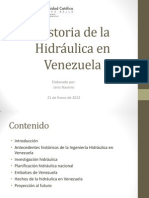 Historia de La Hidraulica en Vzla