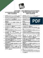 Documents Estatutaris Eupv 2011