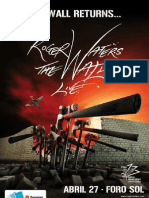 Ocesa Roger Waters Poster