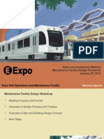 Expo Line maintenance facility
