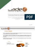 Cade Dossier&References 2011