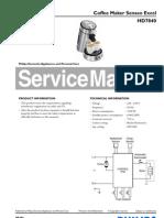 Philips Senseo Excel HD7840