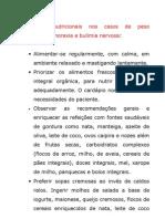 ORIENTAÇÕES GERAIS TROFOTERAPIA