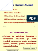 1 - SISTEMA FINANCEIRO NACIONAL