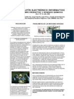 BOLETIN_15, Sobre Productos y Residuos Quimicos