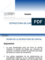 Estructura de Capital y Costo Del Equity