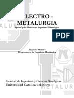 Electrometalurgia a. Morales