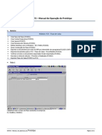 MIT072 - Manual de Operacao Do Prototipo