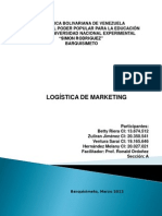 a Logistica de Marketing Final