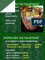 NUTRIÇÃO NA GRAVIDEZ