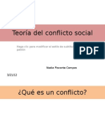 Psicologia --Teoría del conflicto social
