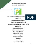 tecnologías antisismicas historia e innovación estructural Jorge Antonio Avilés Ángeles civil-    22 DE NOV.