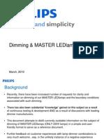Dimming Master Ledlamps Mv