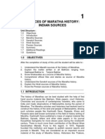 Sources of Maratha History