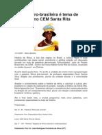 Cultura Afro Na Santa Rita
