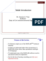 Matlab Intro (1)