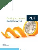 2012 Budget Publication
