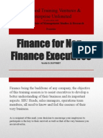 2 Day OTV Finance for Non-Finance Executives Programme