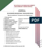 PLANIFICACION-Gobernanza