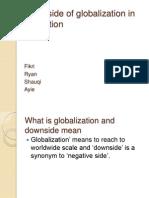 Downside of Globalization in Education