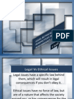 Ethical & Legal Perspectives of PA