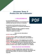 Resumen Tema 3 Seguridad Informática Nino