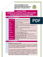 Gestion de Proyectos Con Microsoft Project 2010 Con Enfoque PMIx