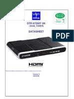 Sagem DTR67250T Maplin