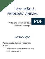 Introdução Fisiologia