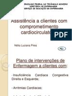Assistência a clientes com comprometimento cardiocirculatório